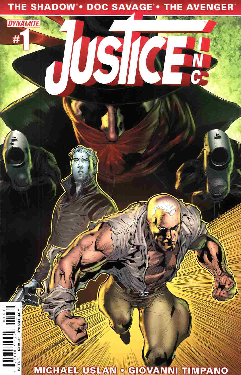 Justice Inc #1 Syaf Cover [Comic]