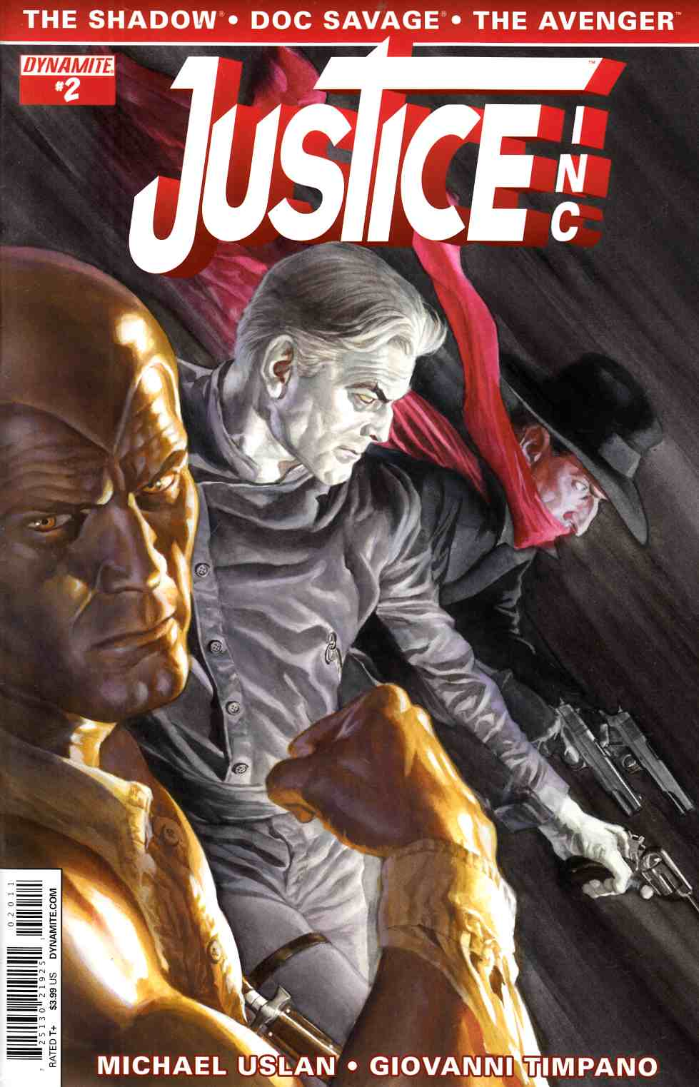 Justice Inc #2 Alex Ross Cover [Dynamite Comic]