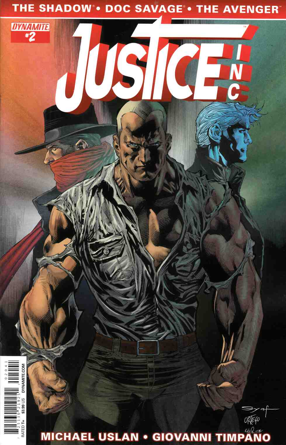 Justice Inc #2 Cover C- Syaf [Comic]
