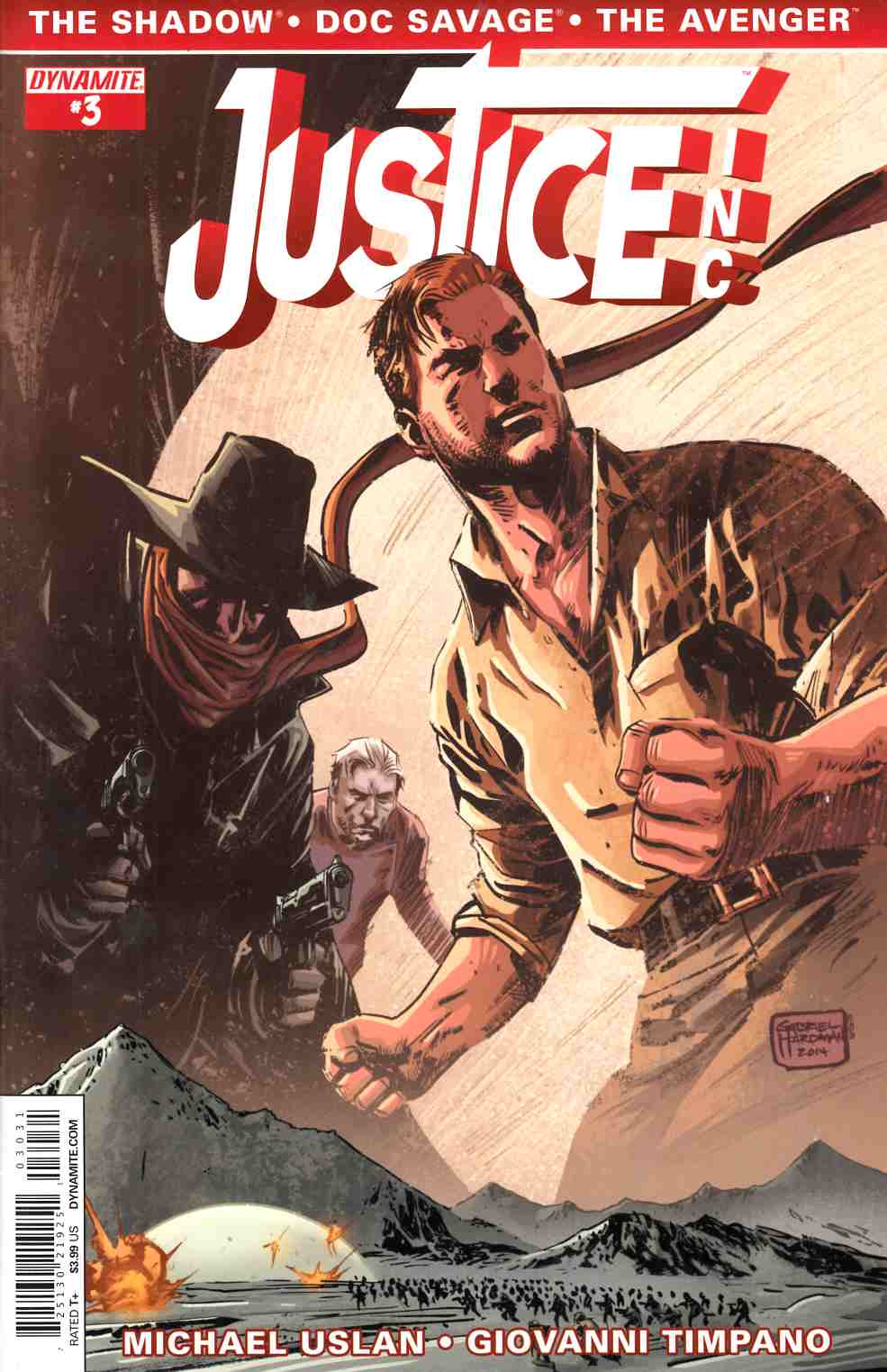 Justice Inc #3 Cover C- Hardman [Comic] THUMBNAIL