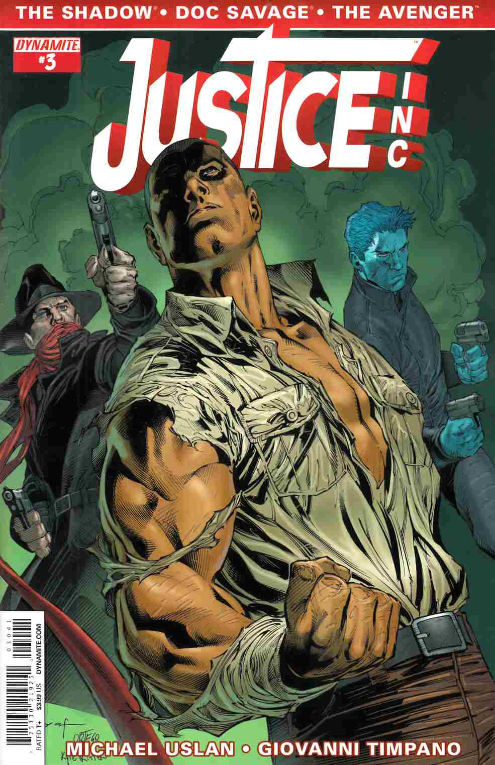 Justice Inc #3 Cover D- Syaf [Comic]