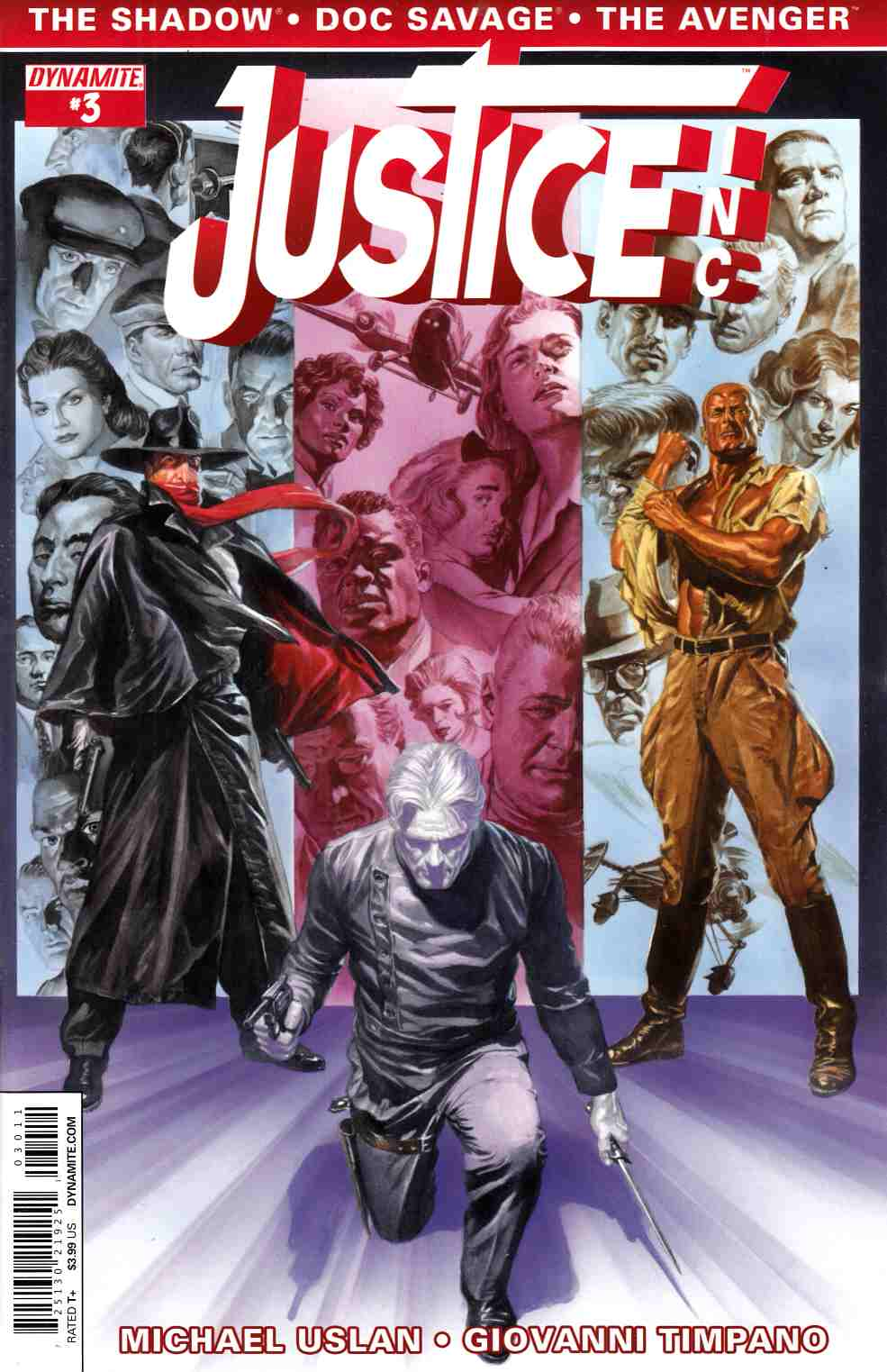Justice Inc #3 Cover A- Ross [Comic] THUMBNAIL