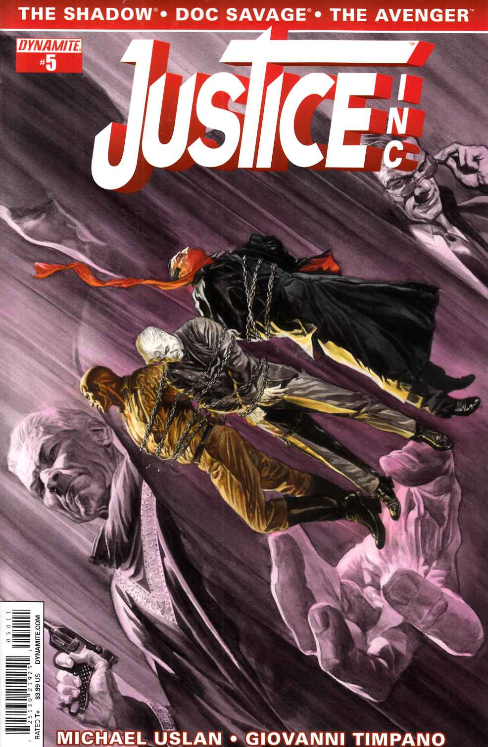Justice Inc #5 Main Cover - Ross [Dynamite Comic] THUMBNAIL
