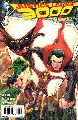 Justice League 3000 #1 [Comic] LARGE
