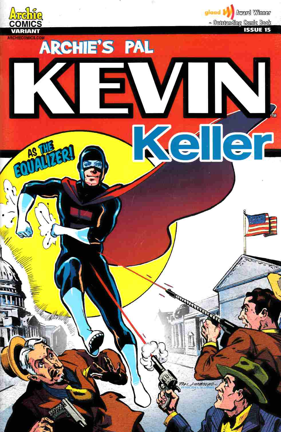 Kevin Keller #15 Sensation Comics Variant Cover [Comic]