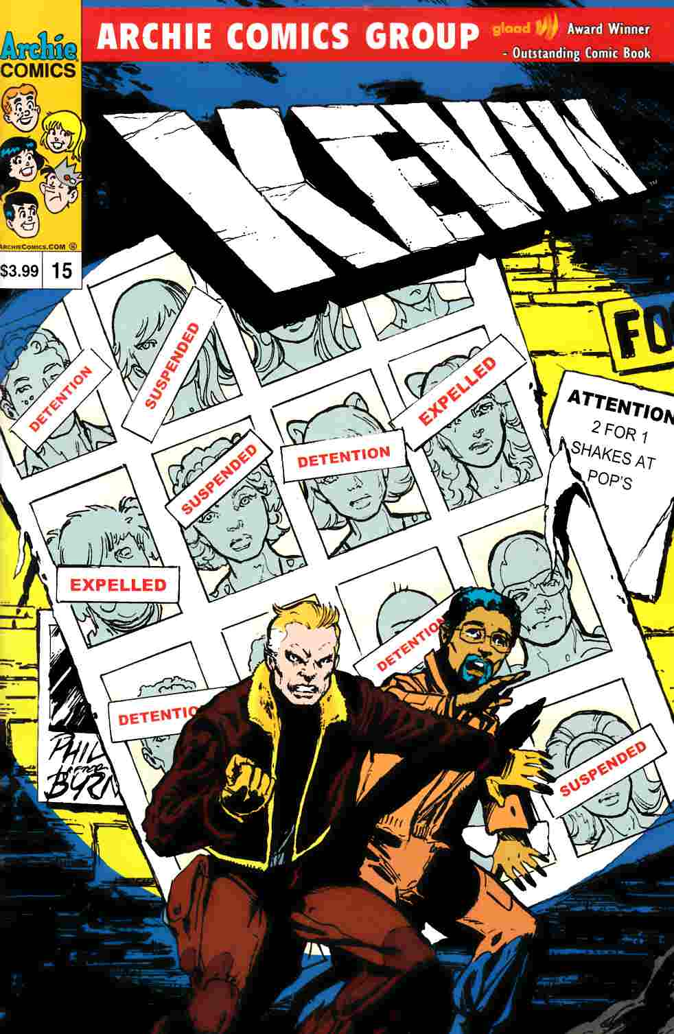 Kevin Keller #15 Days of Future Past Variant Cover [Comic] LARGE