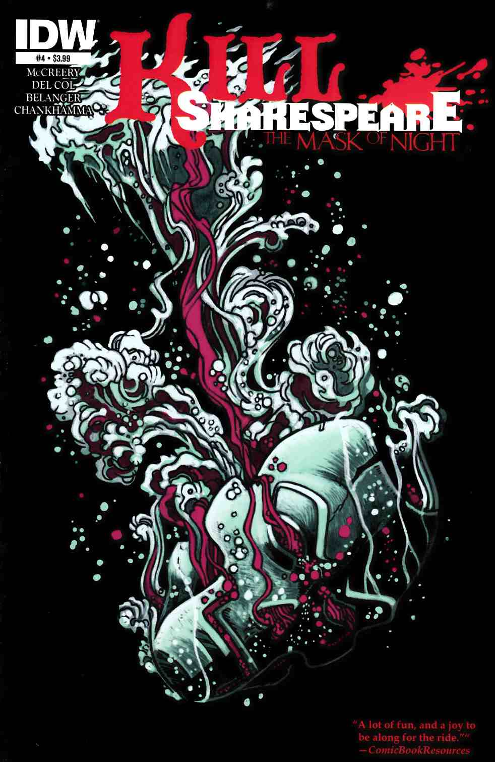 Kill Shakespeare Mask Of Night #4 [IDW Comic] THUMBNAIL