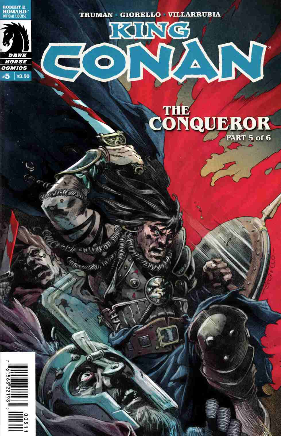 King Conan Conqueror #5 [Dark Horse Comic] THUMBNAIL