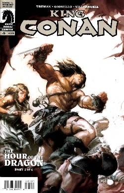 King Conan Hour of the Dragon #5 [Comic] LARGE