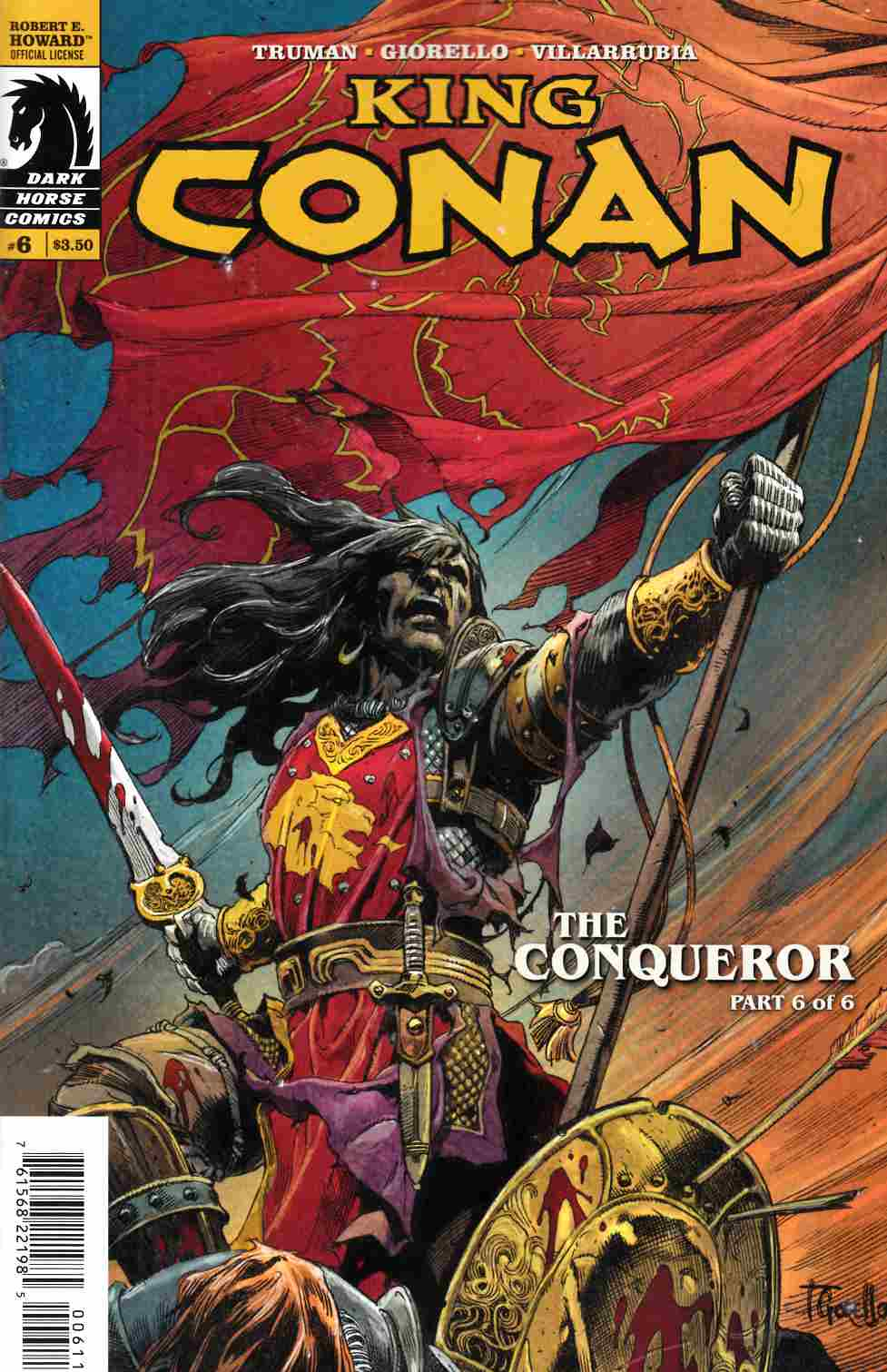King Conan Conqueror #6 [Dark Horse Comic] THUMBNAIL