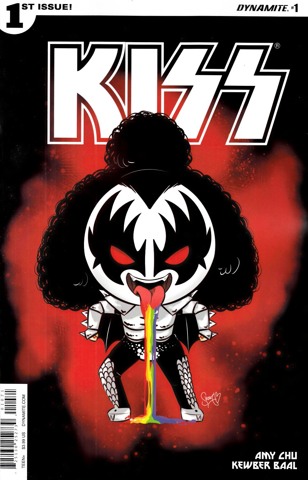 KISS #1 Cover G- Shouri Demon Emoji [Dynamite Comic] LARGE