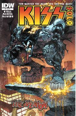 Kiss Solo the Demon #1 [Comic] LARGE