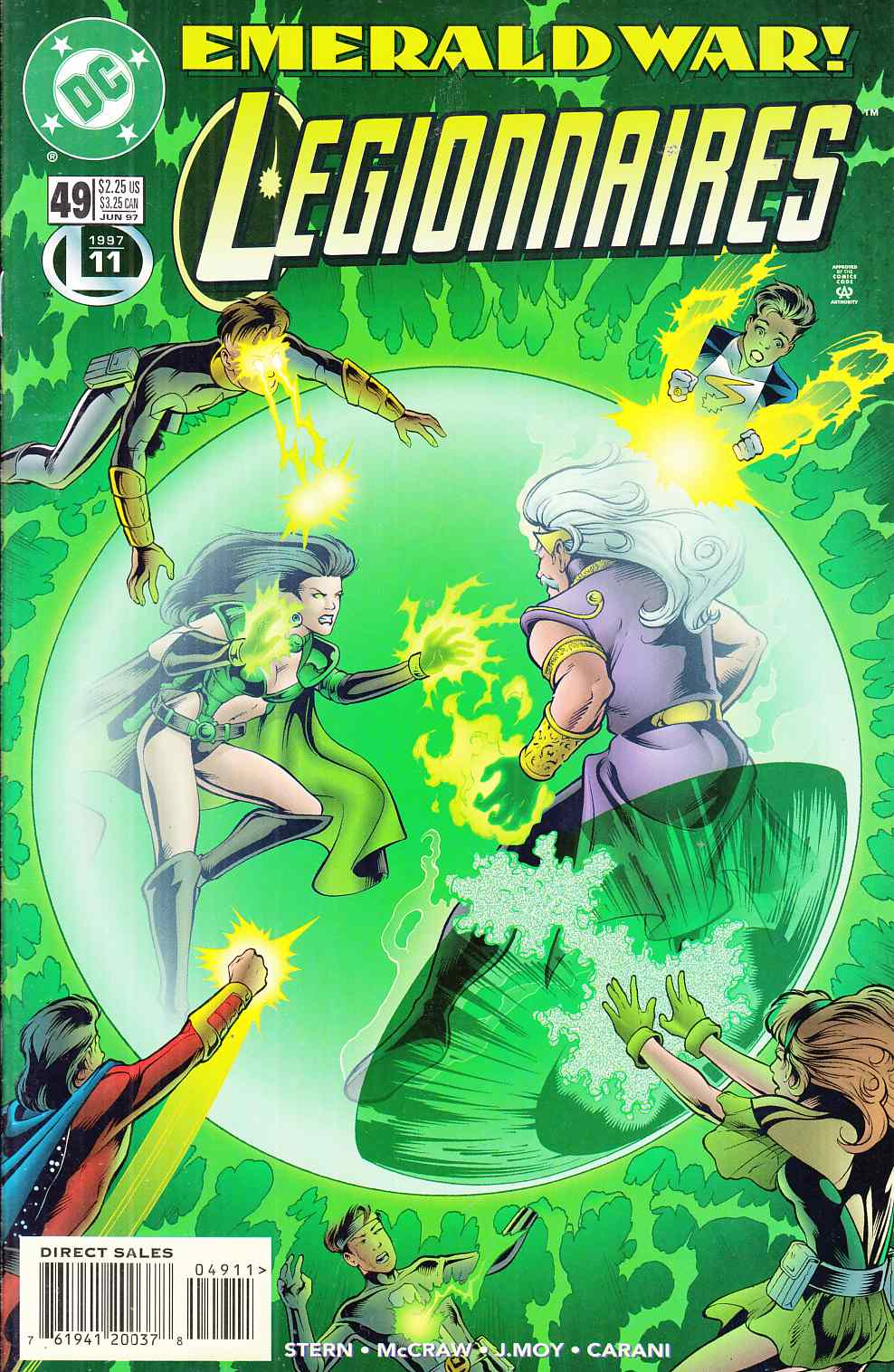Legionnaires #49 Near Mint (9.4) [DC Comic] LARGE