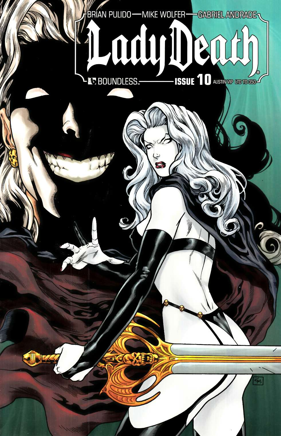 Lady Death (Ongoing) #10 Austin VIP Cover [Boundless Comic] THUMBNAIL