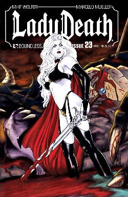 Lady Death (Ongoing) #23 Wrap Cover [Comic]_LARGE