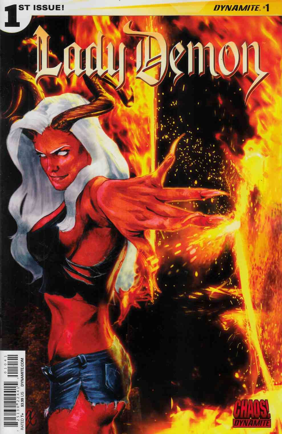 Lady Demon #1 Cover D- Staggs Variant Cover [Dynamite Comic] LARGE