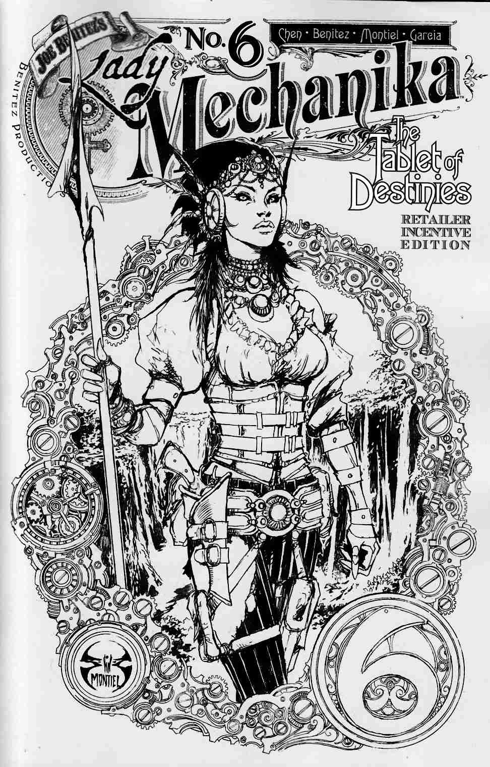 Lady Mechanika Tablet of Destinies #6 Variant Cover [Benitez Comic] THUMBNAIL