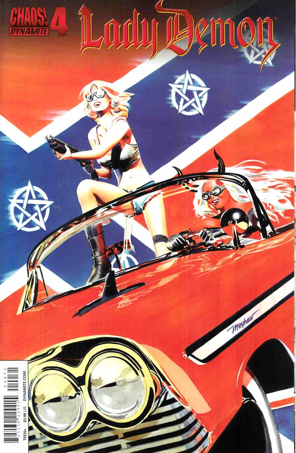 Lady Demon #4 Cover C- Mayhew Exc Subscription Cover [Dynamite Comic] THUMBNAIL
