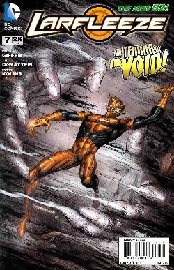 Larfleeze #7 [DC Comic] LARGE