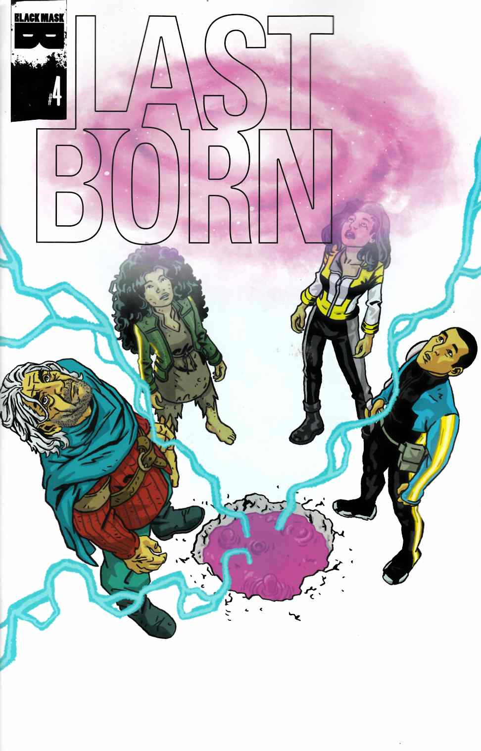 Last Born #4 [Black Masic Comic] THUMBNAIL