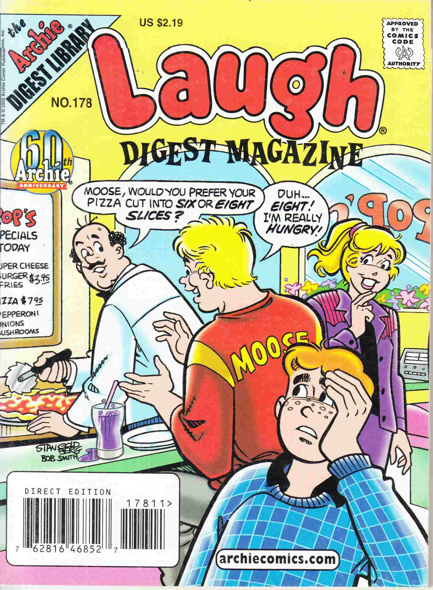 Laugh Digest #178 Near Mint Minus (9.2) [Archie Comic] THUMBNAIL