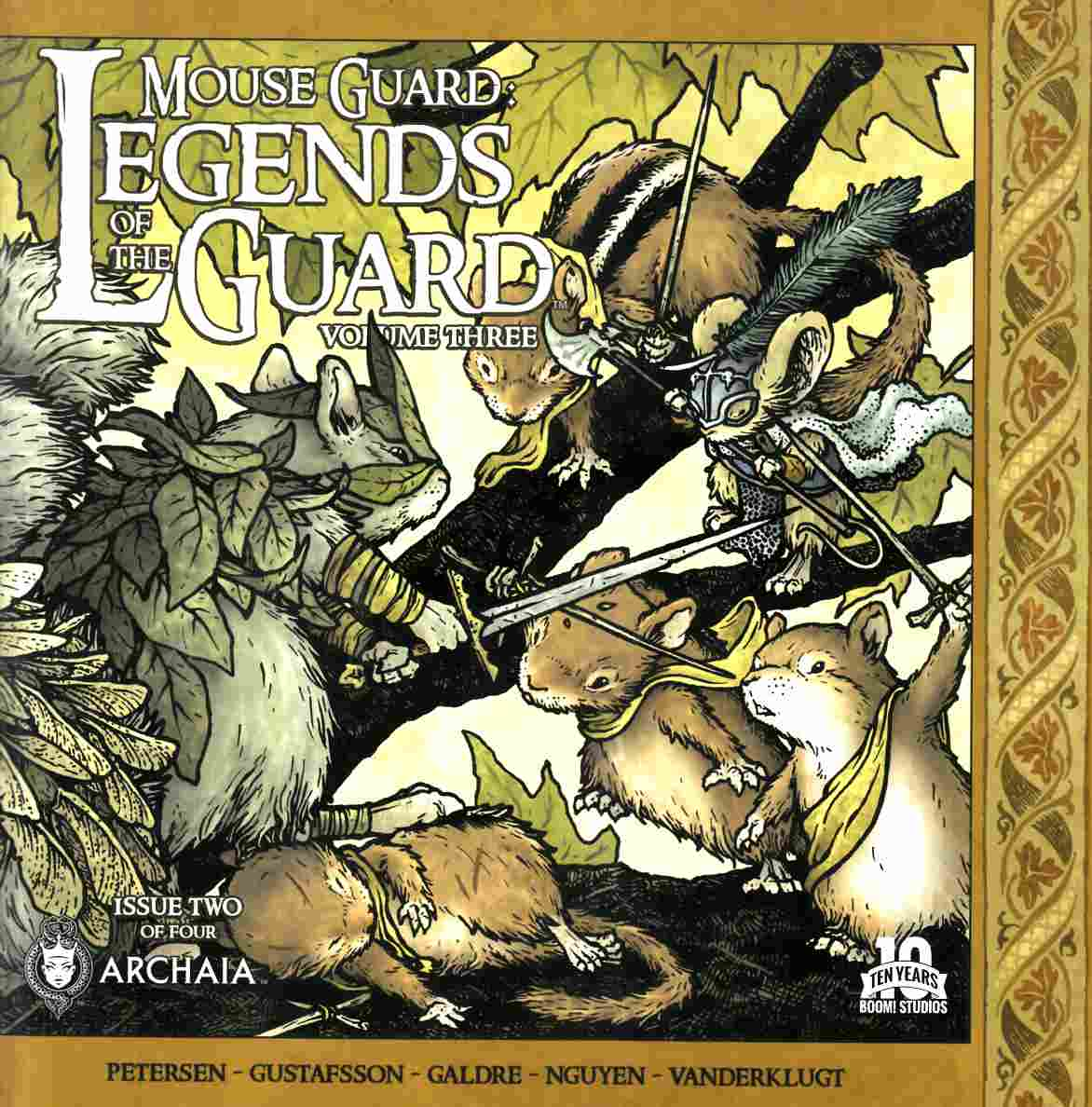 Mouse Guard Legends Of Guard Volume 3 #2 [Boom Comic] THUMBNAIL