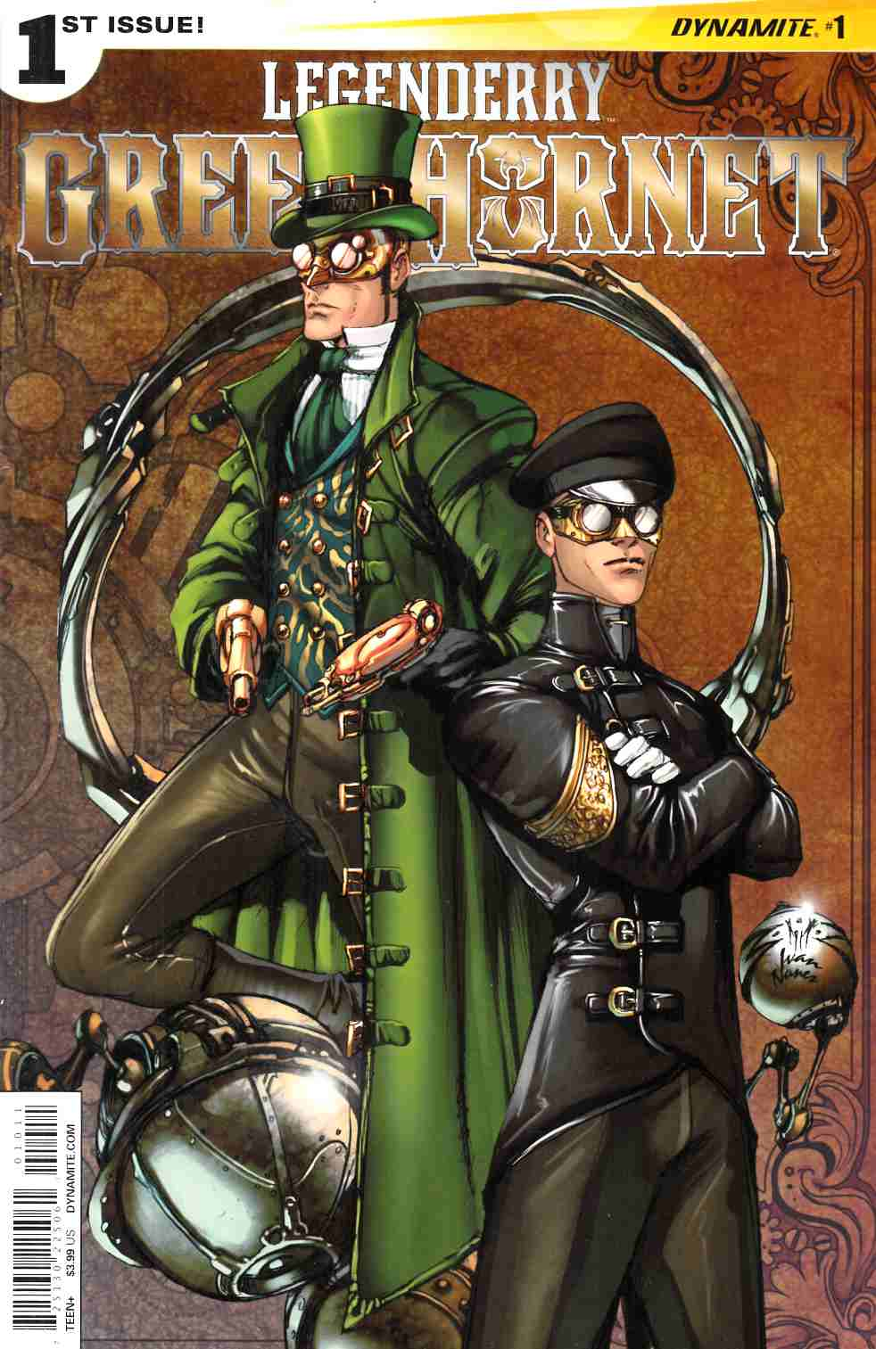 Legenderry Green Hornet #1 [Dynamite Comic]
