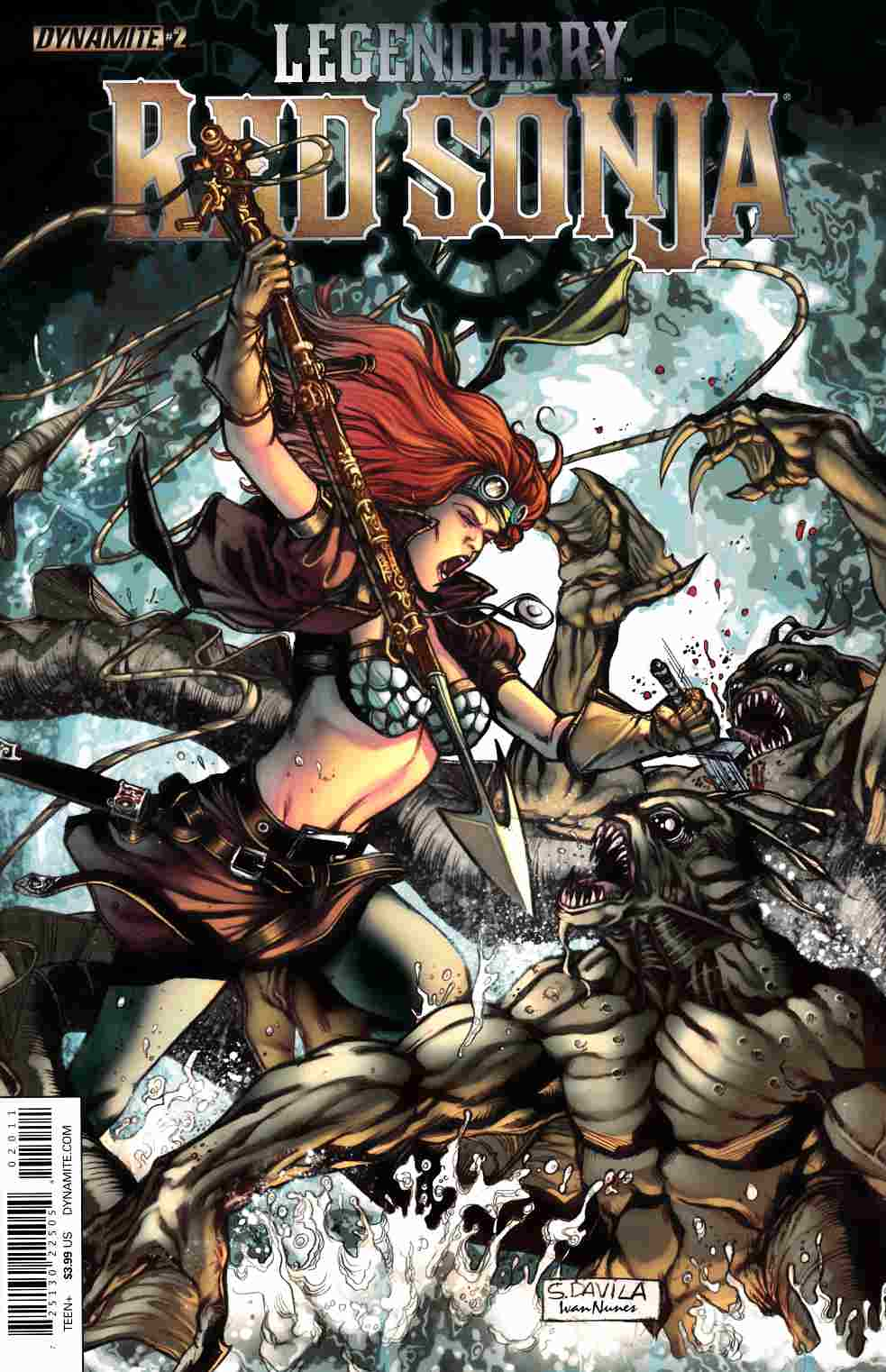 Legenderry Red Sonja #2 [Dynamite Comic]_THUMBNAIL