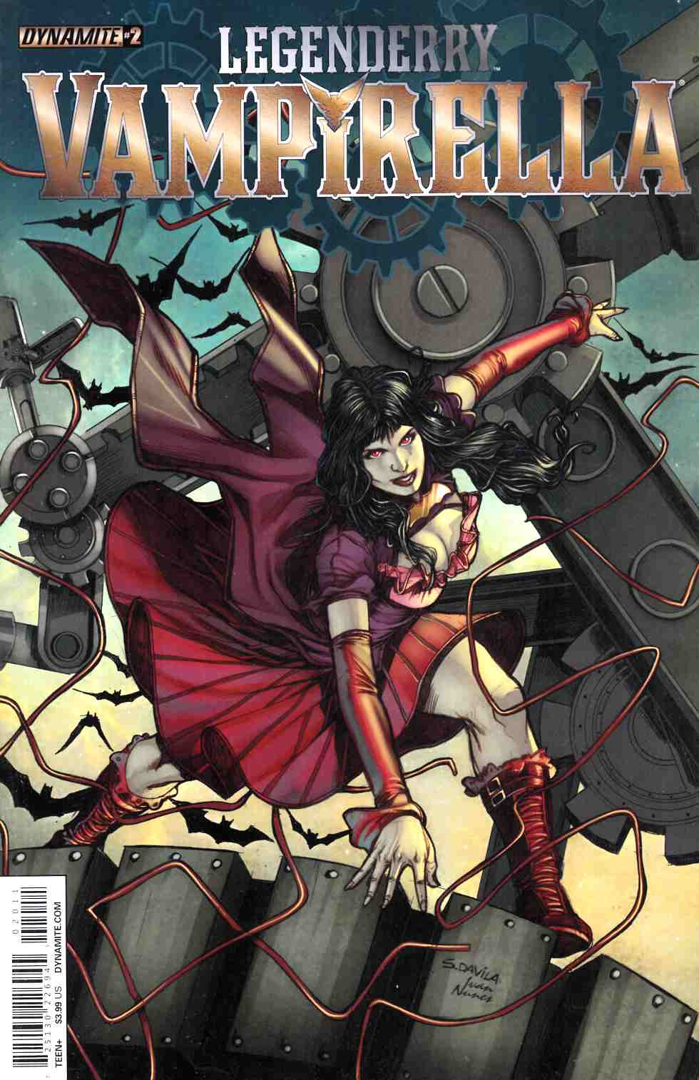Legenderry Vampirella #2 [Dynamite Comic]_THUMBNAIL