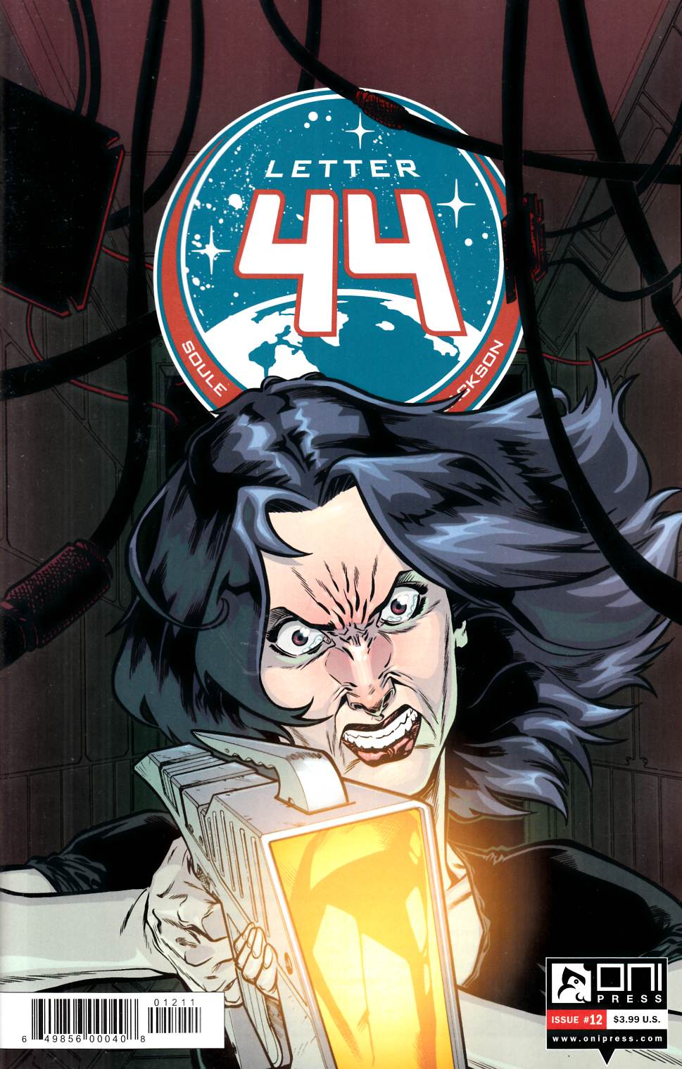 Letter 44 #12 [Oni Press Comic]