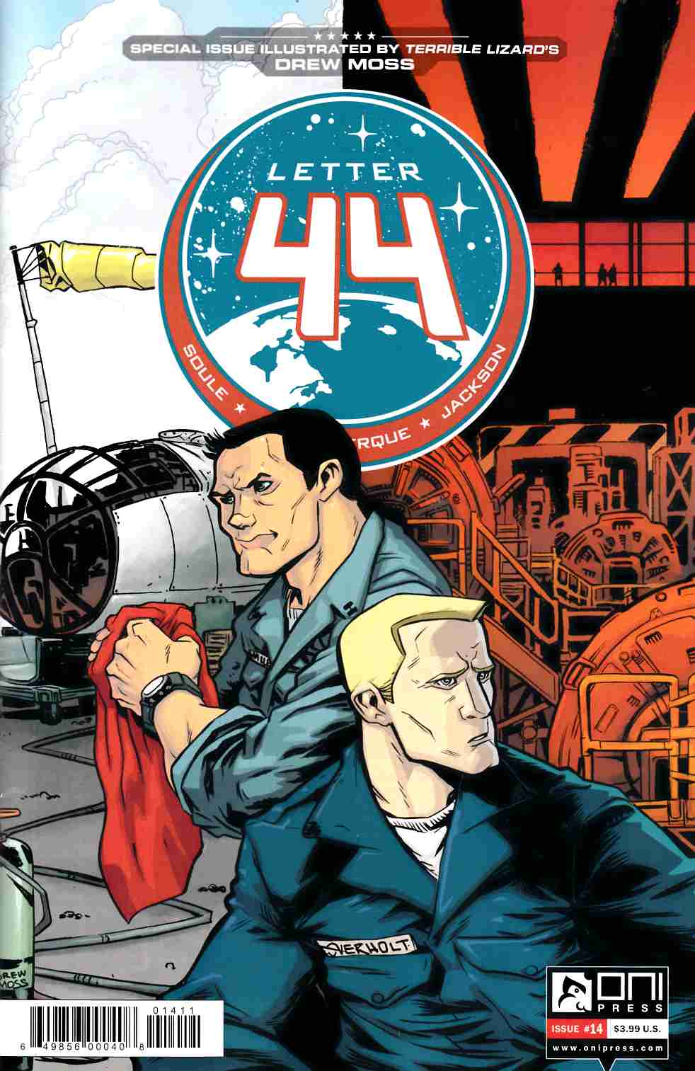 Letter 44 #14 [Oni Press Comic]
