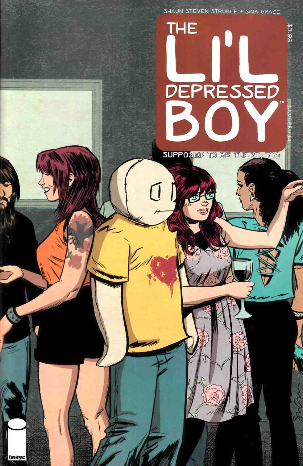 Lil Depressed Boy Supposed To Be There Too #1 Cover A- Grace [Comic] THUMBNAIL