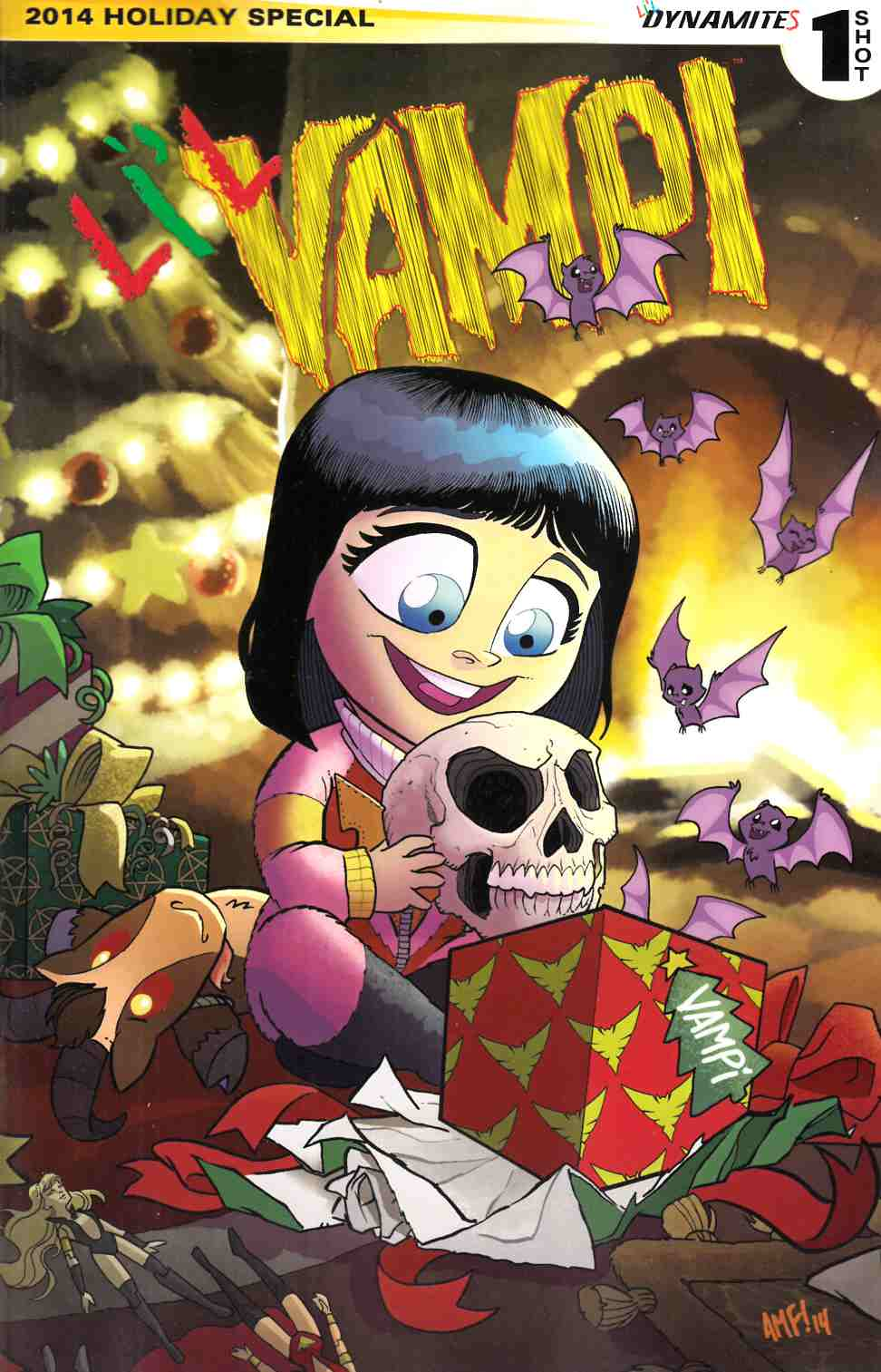 Lil Vampi Holiday Special 2014 (One Shot) [Dynamite Comic]