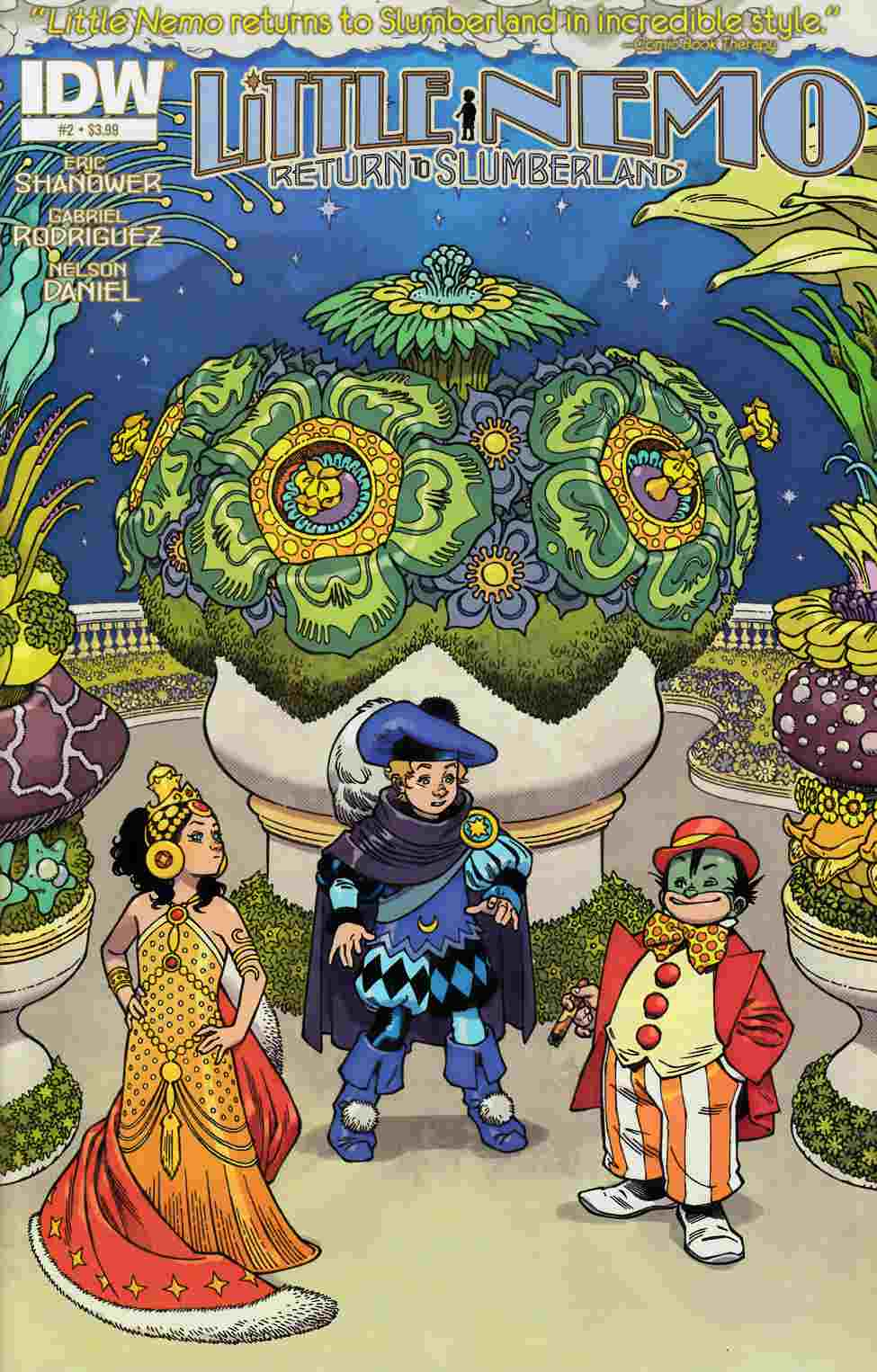Little Nemo Return To Slumberland #2 [IDW Comic]