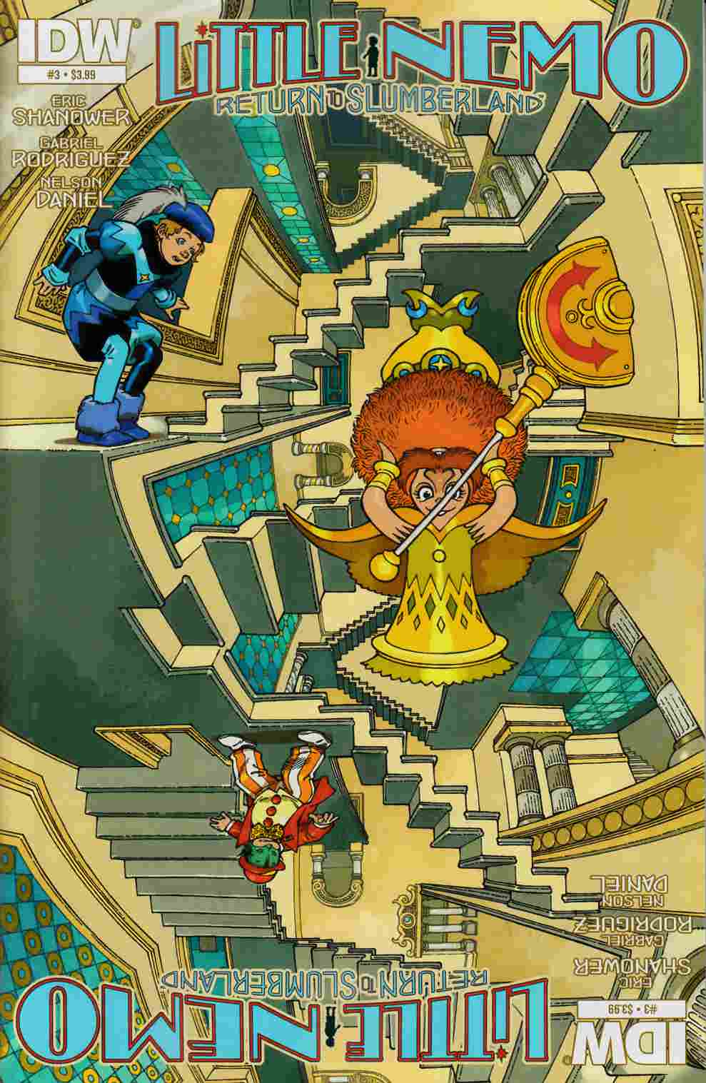 Little Nemo Return To Slumberland #3 [IDW Comic]