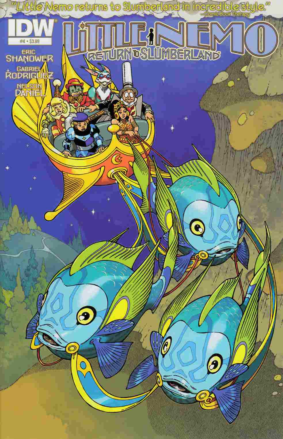 Little Nemo Return To Slumberland #4 [IDW Comic]