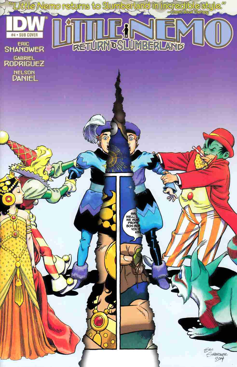 Little Nemo Return To Slumberland #4 Subscription Cover [IDW Comic]