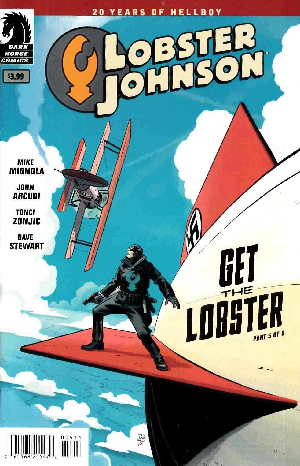 Lobster Johnson Get Lobster #5 [Dark Horse Comic] THUMBNAIL