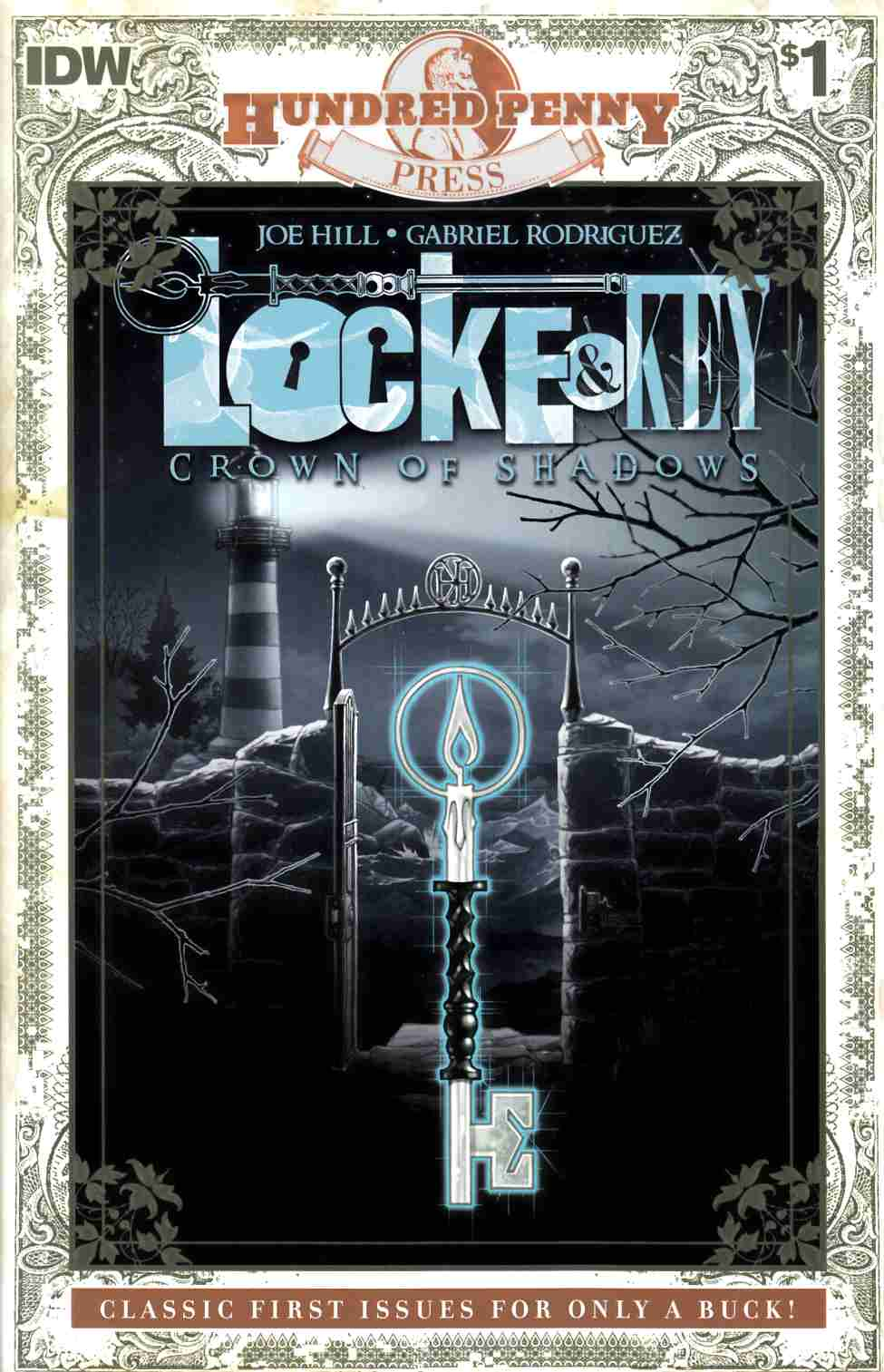 Locke & Key Crown of Shadows #1 100 Penny Press Edition [IDW Comic]_THUMBNAIL