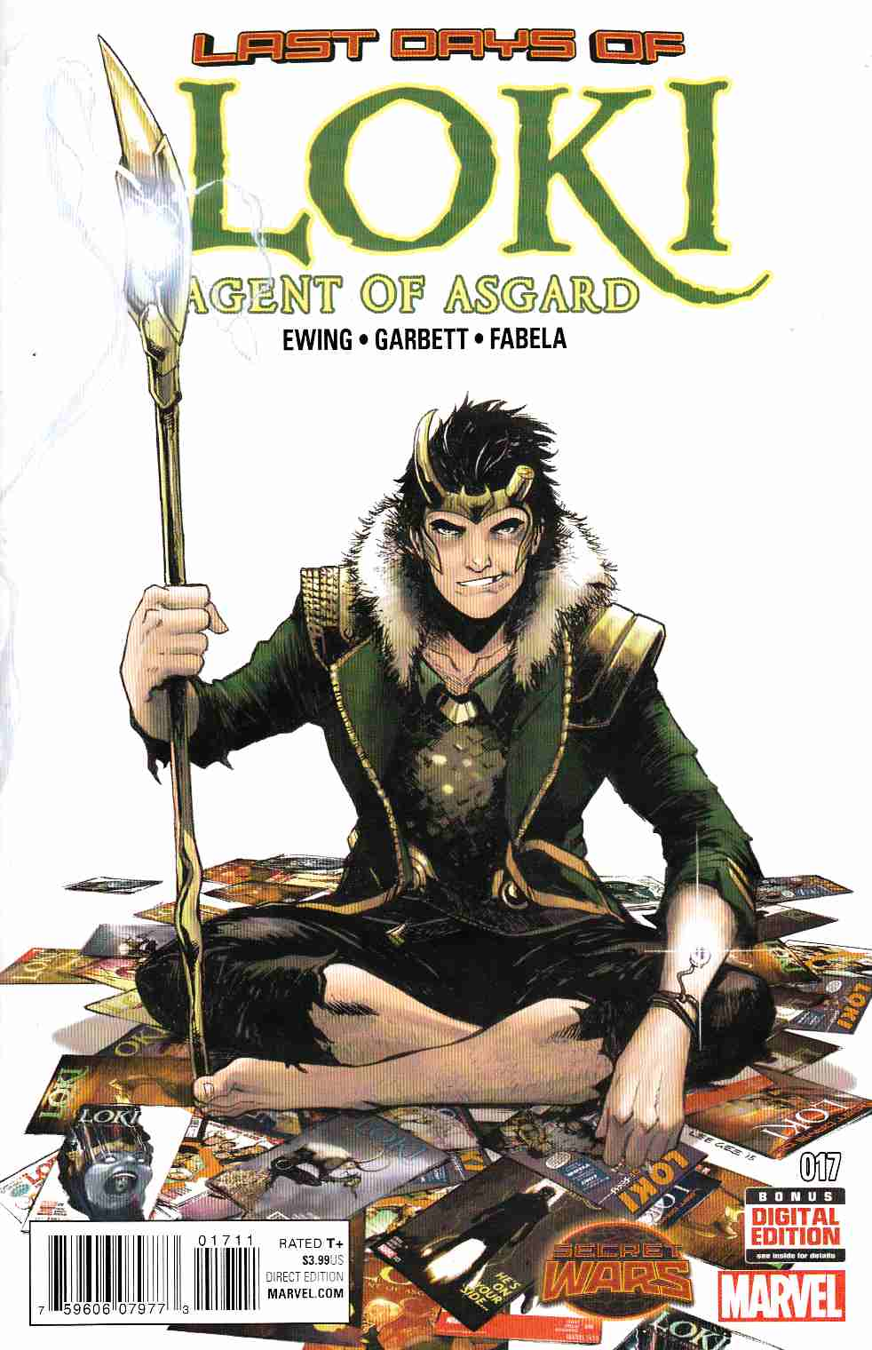 Loki Agent of Asgard #17 [Marvel Comic] THUMBNAIL