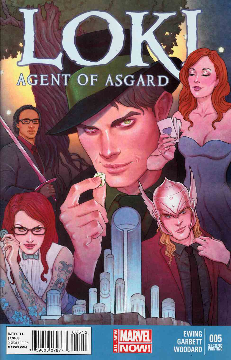 Loki Agent of Asgard #5 Second Printing Near Mint Minus (9.2) [Marvel Comic] THUMBNAIL