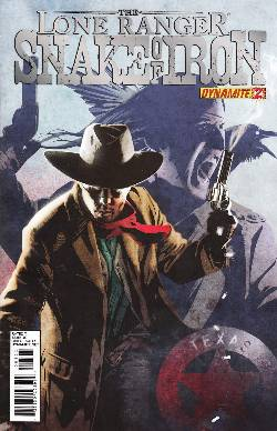 The Lone Ranger Snake of Iron #2 [Comic] LARGE