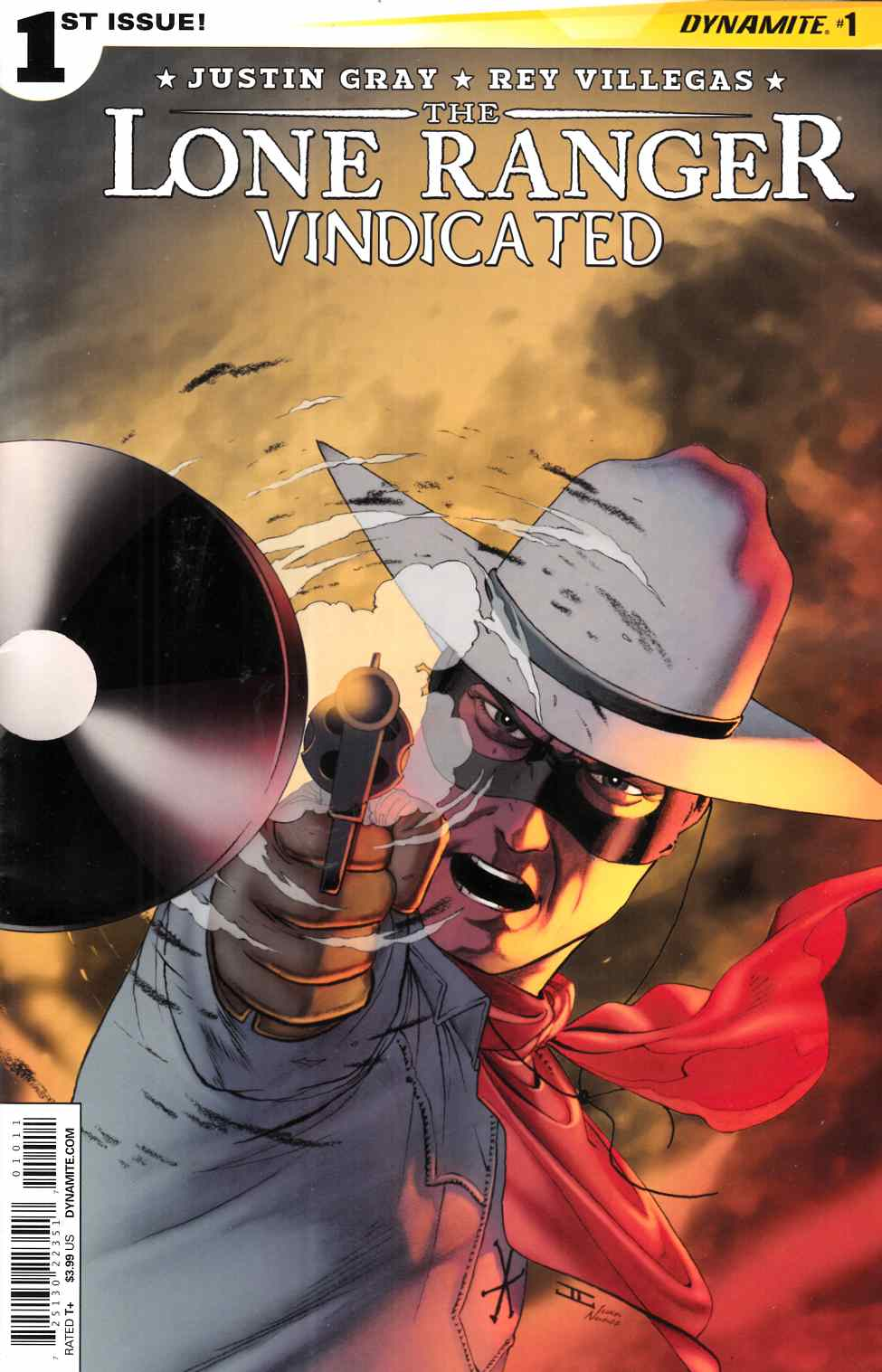Lone Ranger Vindicated #1 Cover A- Cassaday [Dynamite Comic] THUMBNAIL