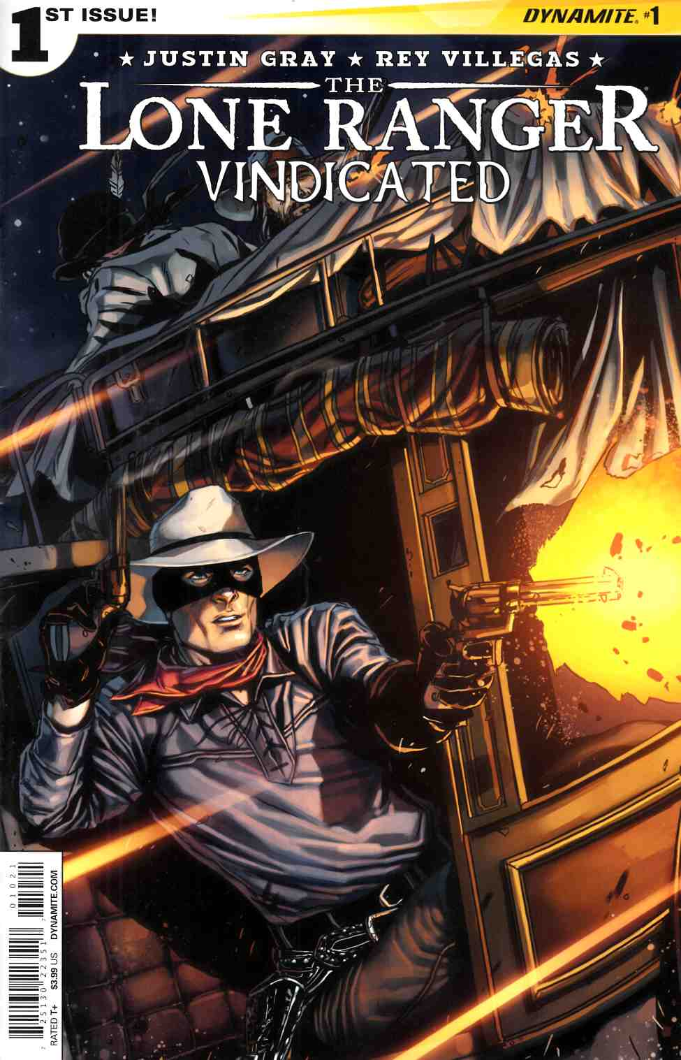 Lone Ranger Vindicated #1 Subscription Cover [Dynamite Comic] LARGE