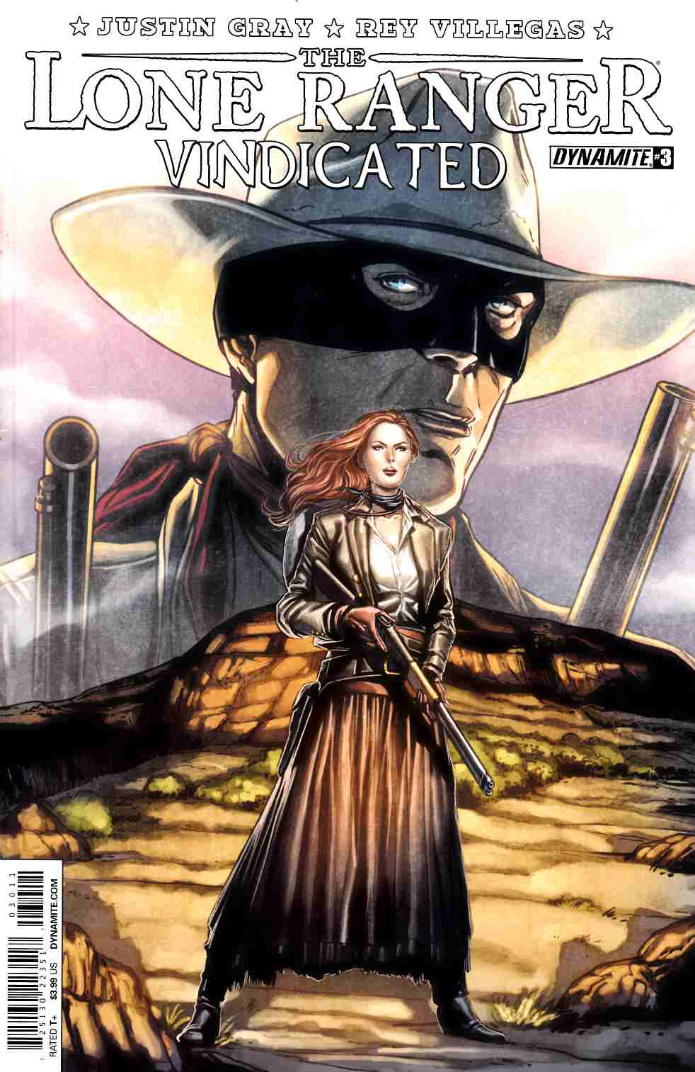 Lone Ranger Vindicated #3 [Dynamite Comic]_THUMBNAIL