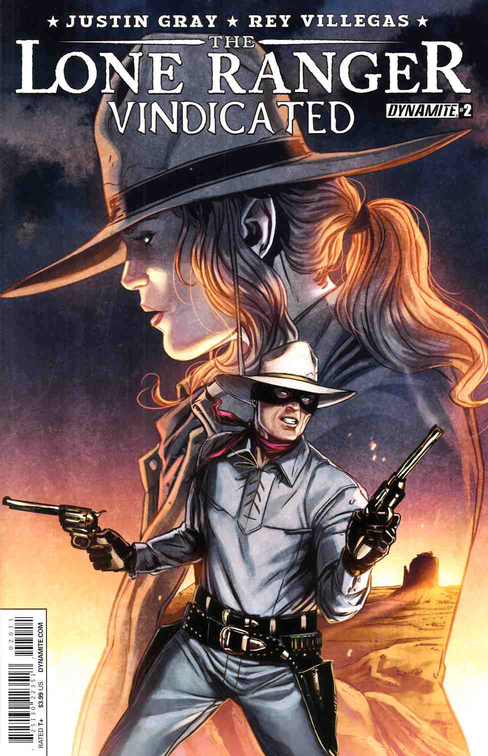 Lone Ranger Vindicated #2 [Dynamite Comic] LARGE