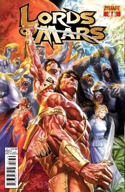 Lords of Mars #1 Ross Cover [Comic] LARGE