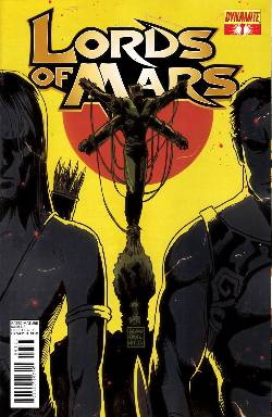 Lords of Mars #1 Francavilla Cover [Comic] LARGE