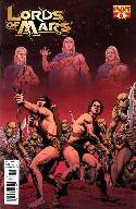 Lords of Mars #6 Malaga Subscription Cover [Comic]