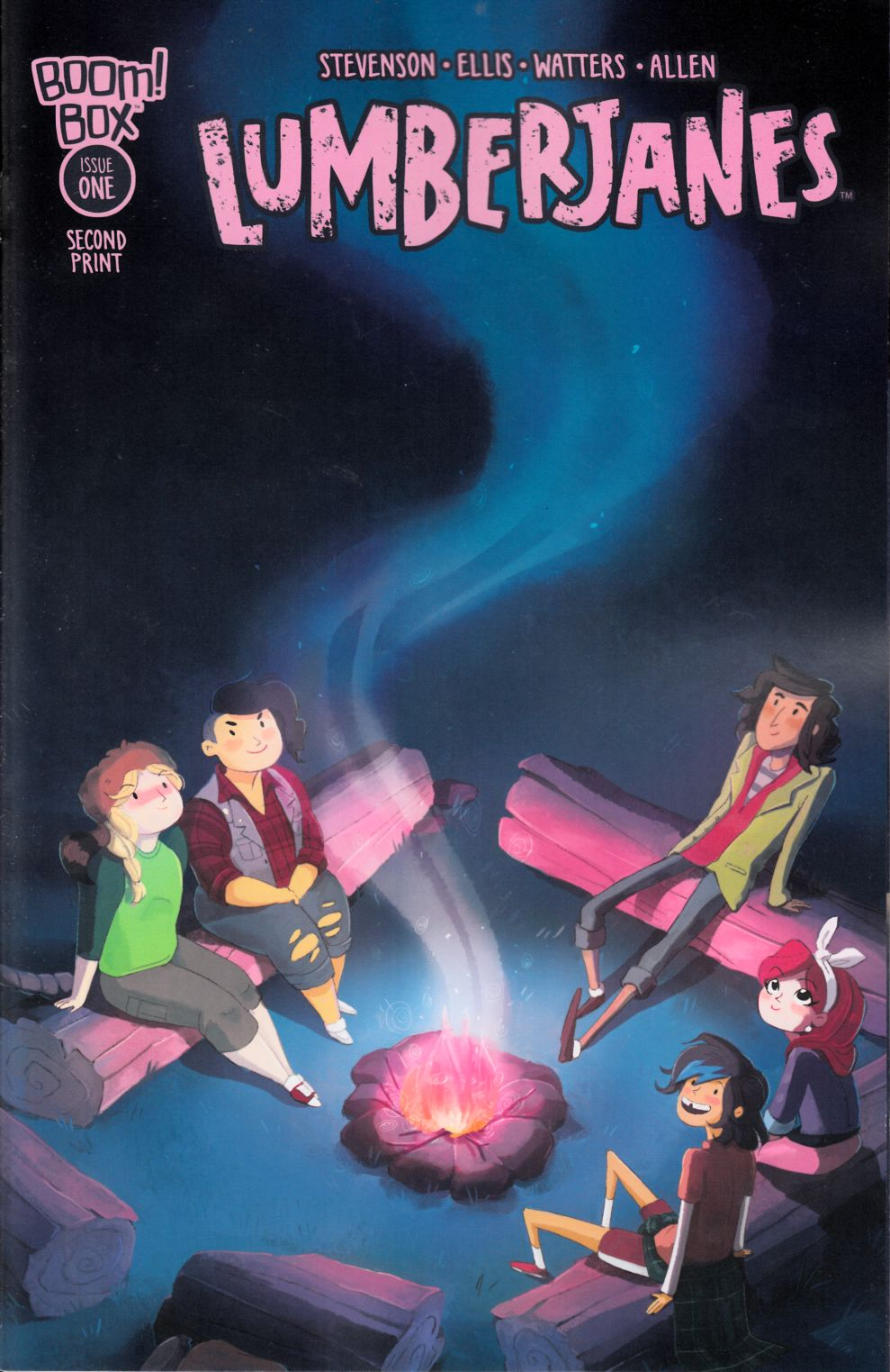 Lumberjanes #1 Second Printing [Boom Comic]_THUMBNAIL